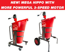 HIPPO mixing station with Lid and Dust Extraction Port 3-speed