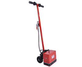 11-head air-powered concrete floor scabbler