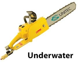 Underwater Pneumatic Chain Saw