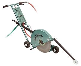 pneumatic concrete saw