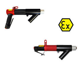 ATEX-certified needle scaler