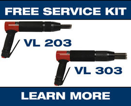 VL203 VL303 heavy-duty low-vibration needle scaler Promo