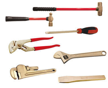 Selection of tools in Ex2000 Kit