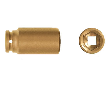 "Ex1860 Deep Impact Sockets, 6-Point, 1-1/2"" Drive"