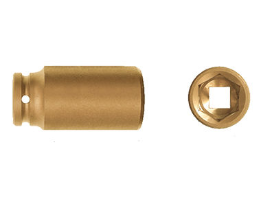 "Ex1830 Deep Impact Sockets, 6-Point, 1/2"" Drive"