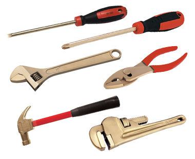 Selection of tools in Ex2211 Kit