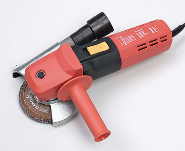 Electric Angle Grinder with dust extraction
