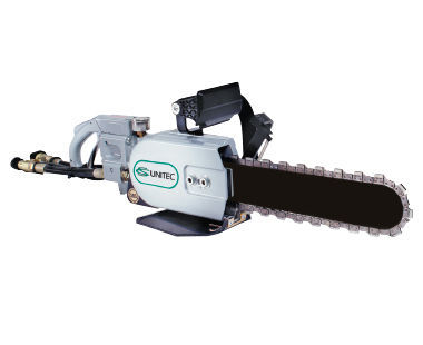 Hydraulic PowerGrit Pipe Cutting Chain Saws for Ductile Iron