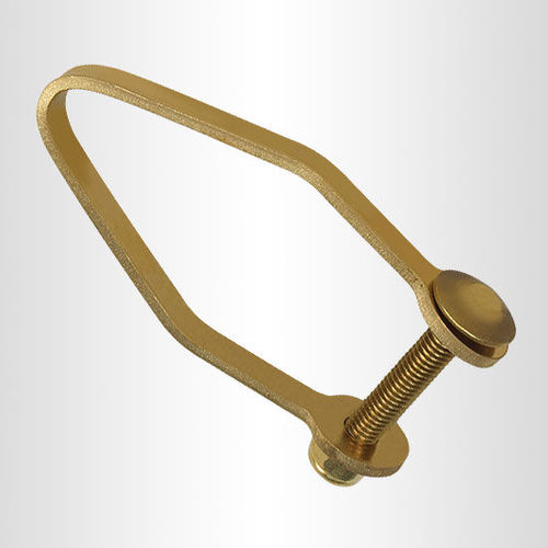 Brass Alloy Shackle for Drop Protection