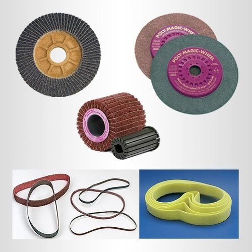 Abrasivos y accesorios para acabado de superficies