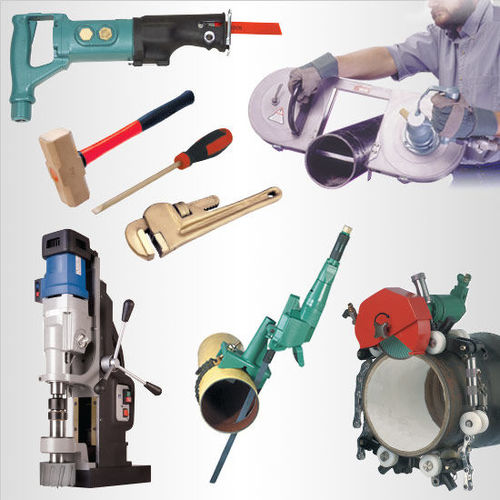 Air, Hydraulic and Electric Power Tools for Shutdown and Maintenance