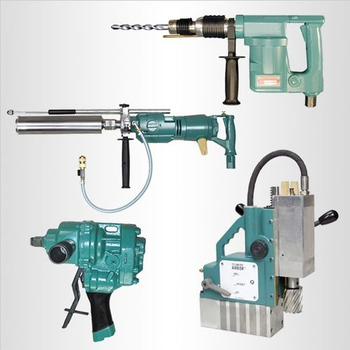 Specialty pneumatic drills for steel, concrete, wood and more