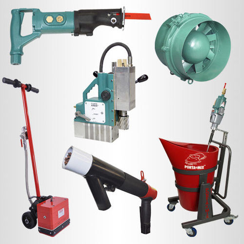 Specialty air-powered tools