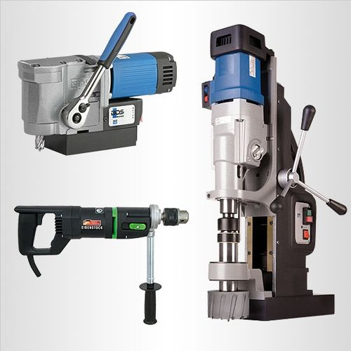 Specialty electric drills for steel, stainless steel and more