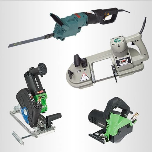 Specialty portable industrial electric saws