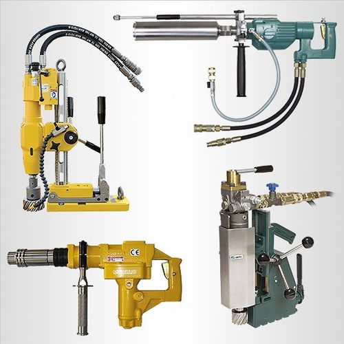 Specialty hydraulic drills