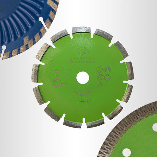 Concrete, stone and tile saw blades