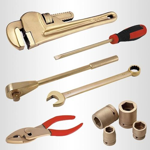 Non-Sparking, Non-Magnetic Tightening Tools