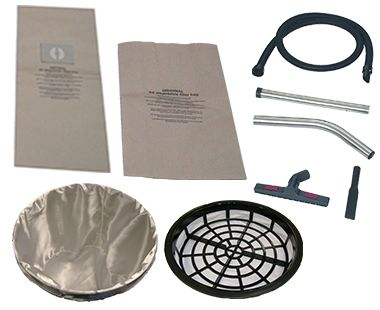 Accessories for antistatic/ATEX vacuums