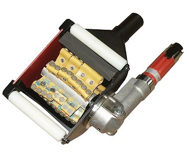 Electric Hand-Held Scarifier with C-Flaps