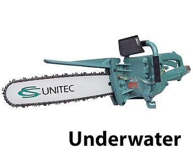 Motosierras neumáticas de 4 HP para uso acuático