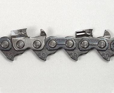 Cadena de sierra con punta de carburo