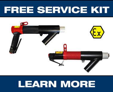 ATEX-certified needle scaler promo