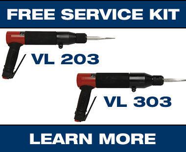 VL203 + VL 303 Vibro-Lo Chisel Scalers Promo LM