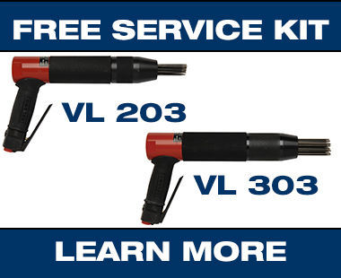 VL203 VL303 heavy-duty low-vibration needle scaler Promo