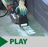 Hand-held Scarifiers with 3M™ Roto Peen Abrasives - Pneumatic & Electric